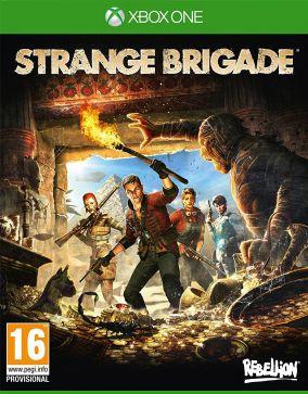 Immagine della copertina del gioco Strange Brigade per Xbox One