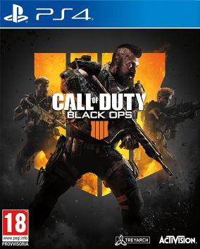 Immagine della copertina del gioco Call of Duty Black Ops 4 per PlayStation 4