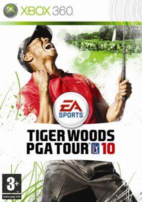 Copertina del gioco Tiger Woods PGA Tour 10 per Xbox 360
