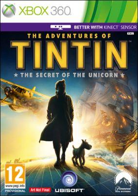 Copertina del gioco Le avventure di Tin Tin: il videogioco per Xbox 360