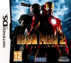 Immagine della copertina del gioco Iron Man 2 per Nintendo DS