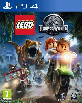 Immagine della copertina del gioco LEGO Jurassic World per Playstation 4