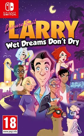 Copertina del gioco Leisure Suit Larry - Wet Dreams Don't Dry per Nintendo Switch