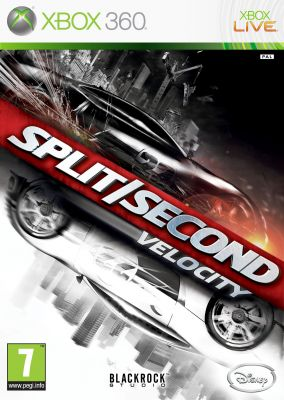 Immagine della copertina del gioco Split/Second: Velocity per Xbox 360