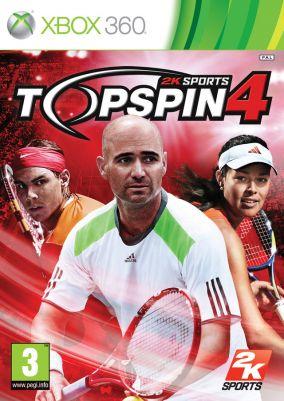 Copertina del gioco Top Spin 4 per Xbox 360