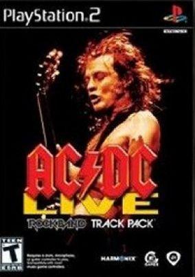 Copertina del gioco Rock Band AC-DC Song Pack per PlayStation 2