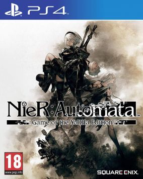Copertina del gioco NieR: Automata Game of the YoRHa Edition per PlayStation 4