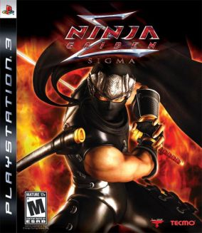 Copertina del gioco Ninja Gaiden Sigma per PlayStation 3