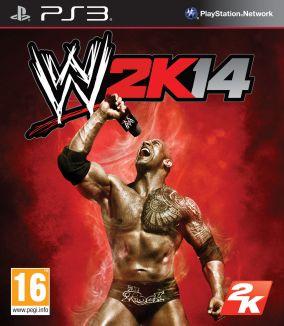 Immagine della copertina del gioco WWE 2K14 per PlayStation 3