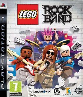 Copertina del gioco Lego Rock Band per PlayStation 3