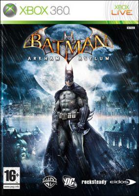 Copertina del gioco Batman: Arkham Asylum per Xbox 360