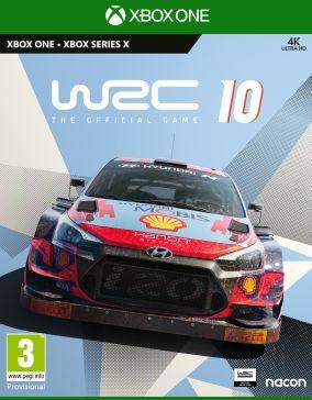 Copertina del gioco WRC 10 per Xbox One