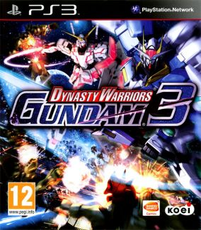 Copertina del gioco Dynasty Warriors: Gundam 3 per PlayStation 3