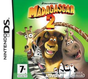 Immagine della copertina del gioco Madagascar: Escape 2 Africa per Nintendo DS