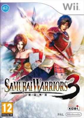 Immagine della copertina del gioco Samurai Warriors 3 per Nintendo Wii