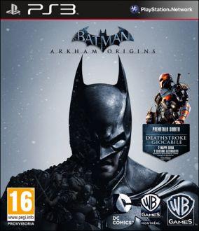Copertina del gioco Batman: Arkham Origins per PlayStation 3