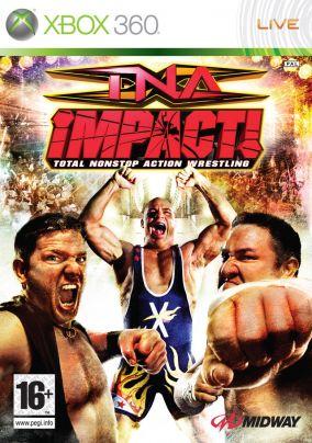Copertina del gioco TNA iMPACT! per Xbox 360