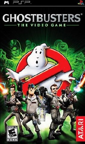 Immagine della copertina del gioco Ghostbusters: The Video Game per PlayStation PSP