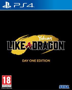 Copertina del gioco Yakuza: Like a Dragon per PlayStation 4