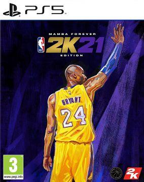 Immagine della copertina del gioco NBA 2K21 per PlayStation 5