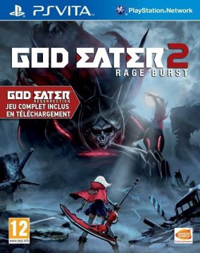 Copertina del gioco God Eater 2: Rage Burst per PSVITA