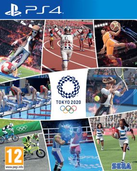 Immagine della copertina del gioco Giochi Olimpici Tokyo 2020 - Il videogioco ufficiale per PlayStation 4