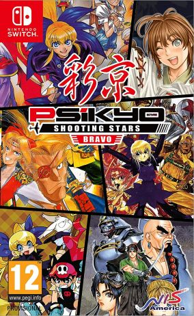 Copertina del gioco Psikyo Shooting Stars Bravo per Nintendo Switch