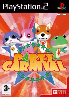 Immagine della copertina del gioco Party Carnival per PlayStation 2