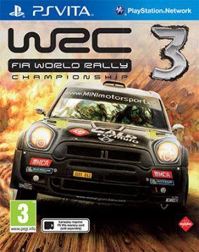 Immagine della copertina del gioco WRC 3 per PSVITA