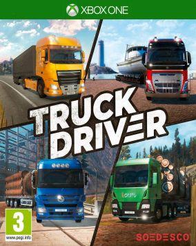 Copertina del gioco Truck Driver per Xbox One