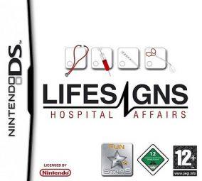 Immagine della copertina del gioco Lifesigns: Hospital Affairs per Nintendo DS