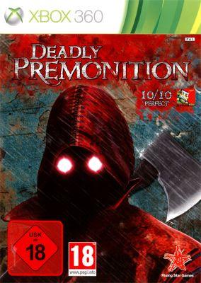 Copertina del gioco Deadly Premonition per Xbox 360
