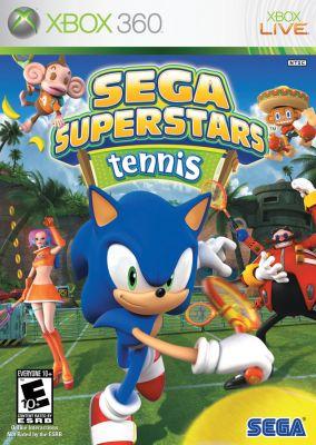Copertina del gioco Sega Superstars Tennis per Xbox 360