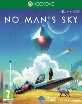 Immagine della copertina del gioco No Man's Sky Next per Xbox One