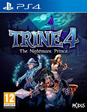 Immagine della copertina del gioco Trine 4: The Nightmare Prince per PlayStation 4