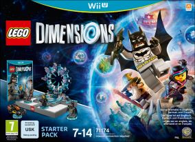 Copertina del gioco LEGO Dimensions per Nintendo Wii U