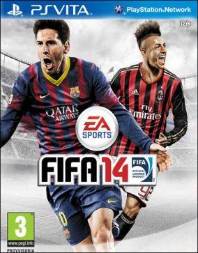 Immagine della copertina del gioco FIFA 14 per PSVITA
