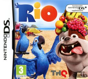 Copertina del gioco Rio per Nintendo DS