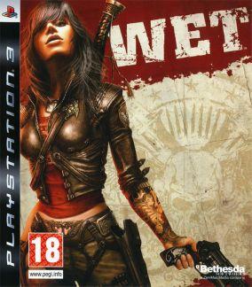 Copertina del gioco WET per PlayStation 3