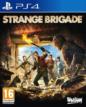 Immagine della copertina del gioco Strange Brigade per PlayStation 4