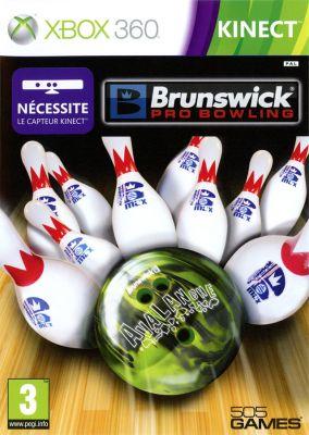 Copertina del gioco Brunswick Pro Bowling per Xbox 360