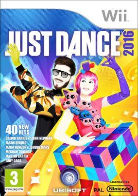 Copertina del gioco Just Dance 2016 per Nintendo Wii
