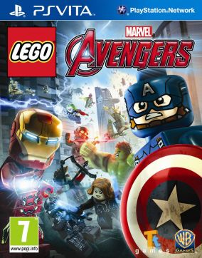 Immagine della copertina del gioco LEGO Marvel's Avengers per PSVITA