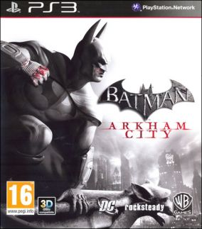 Copertina del gioco Batman: Arkham City per PlayStation 3