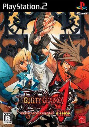 Copertina del gioco Guilty Gear XX Accent Core per PlayStation 2