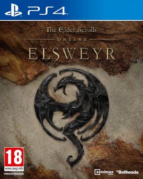 Copertina del gioco The Elder Scrolls Online: Elsweyr per PlayStation 4