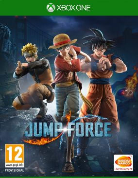 Immagine della copertina del gioco Jump Force per Xbox One
