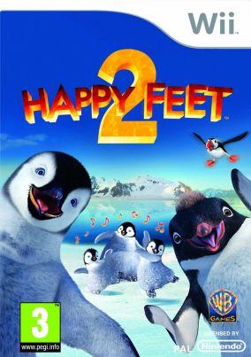 Immagine della copertina del gioco Happy Feet 2 per Nintendo Wii