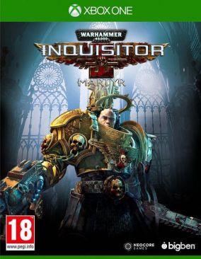 Copertina del gioco Warhammer 40.000: Inquisition - Martyr per Xbox One