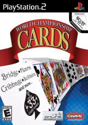 Copertina del gioco World Championship Cards per PlayStation 2